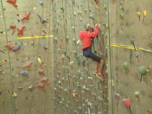 RiverSports climbing