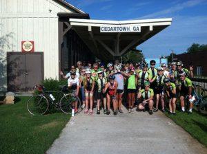 Club VIBES group photo in Cedartown Georgia
