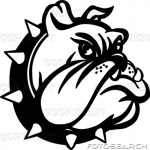 Bearden High School Bulldog logo